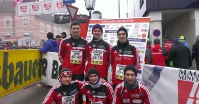 Bewerbsgruppe Weeg läuft….. beim Peuerbacher Silvesterlauf 2013