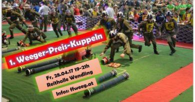 1. Weeger-Preis-Kuppeln am KuppelCup Freitag