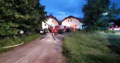Einsatz: Zimmerbrand in Dorf an der Pram